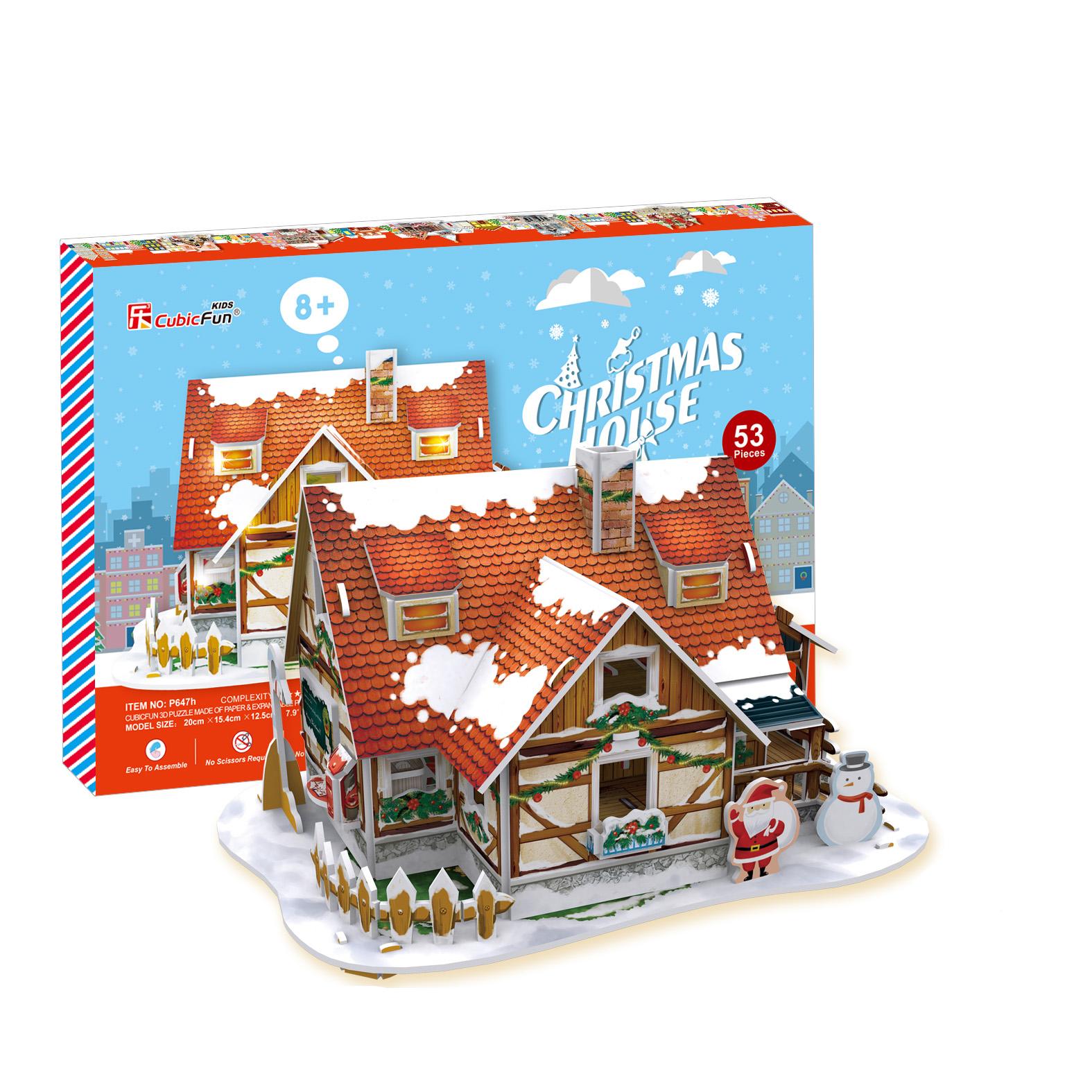 CHRISTMAS HOUSE 1 + LED LIGHTING