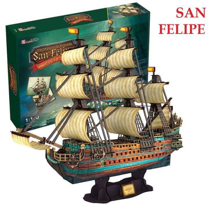 The Spanish Armada (San Felipe)